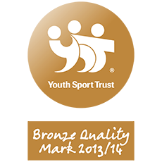 Youth Sport Trust Bronze Quality Mark 2013/14 Logo