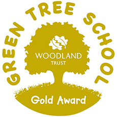 Green Tree School Gold Award Logo